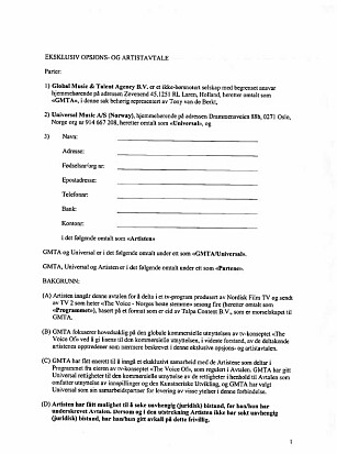 UETISK: Dette er kontrakten Espen Eldøy kaller «uetisk».