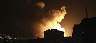 Intense kamper mellom Israel og militante på Gazastripen