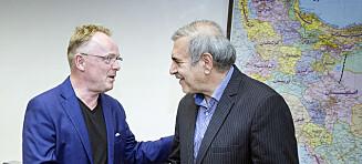 - Per Sandberg kan være et vindu for handel mellom Norge og Iran