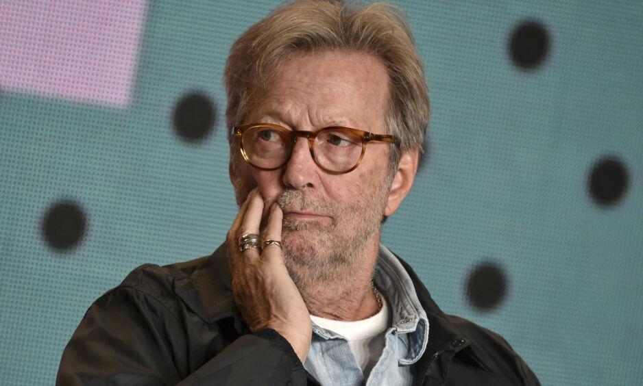 ÅPNER OPP: 6. november utgis biografien «The life and Music of Eric Clapton», der Eric Clapton forteller om de lyse og mørke sidene fra livet sitt. Foto: NTB scanpix
