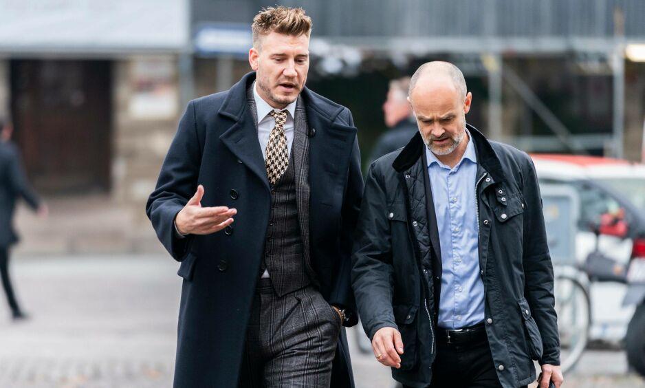 ANKE: Dersom Nicklas Bendtner ikke vinner fram i ankesaken, og dansk landsrett velger å opprettholde dommen fra byretten, kan det få konsekvenser for stjernespissens treningshverdag. FOTO: Kristian Ridder-Nielsen/Dagbladet