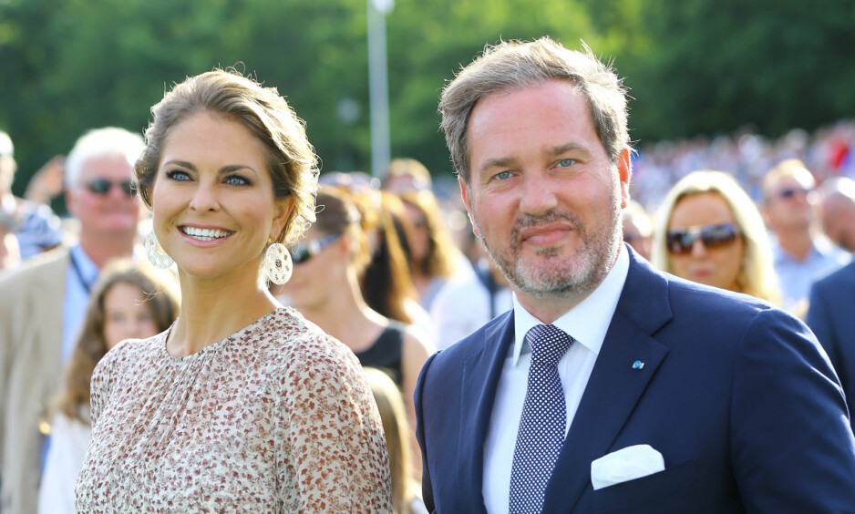 MELDER AVBUD: Den svenske prinsesse Madeleine og ektemannen Chris O'Neill har nok en gang meldt avbud i forkant av den årlige Nobelfesten. Foto: NTB Scanpix