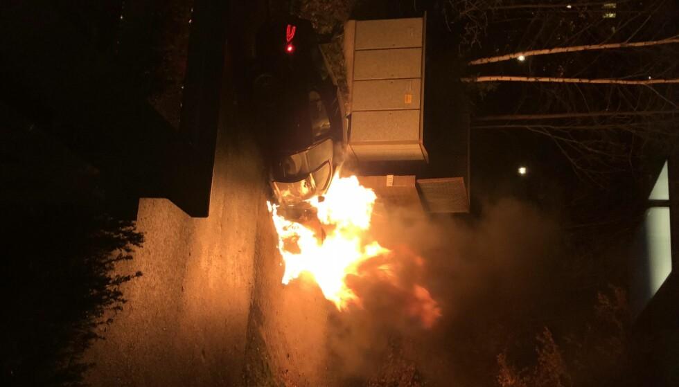 OVERTENT: Jaguaren ble overtent i løpet av kort tid. Foto: Stian Kristensen