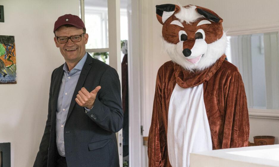 KLOVN: Den danske komikeren Frank Hvam er en av hovedkarakterene i humorserien «Klovn». Norske TV 2 har takket nei til serien. Foto: Dansk TV 2