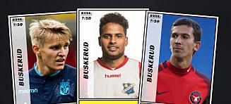 Dagbladet kårer de 50 beste fotballspillerne fra Buskerud
