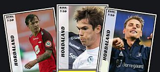 Dagbladet kårer de 50 beste fotballspillerne fra Hordaland