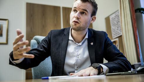 BEKYMRET: Barneminister Kjell Ingolf Ropstad. Foto: Christian Roth Christensen