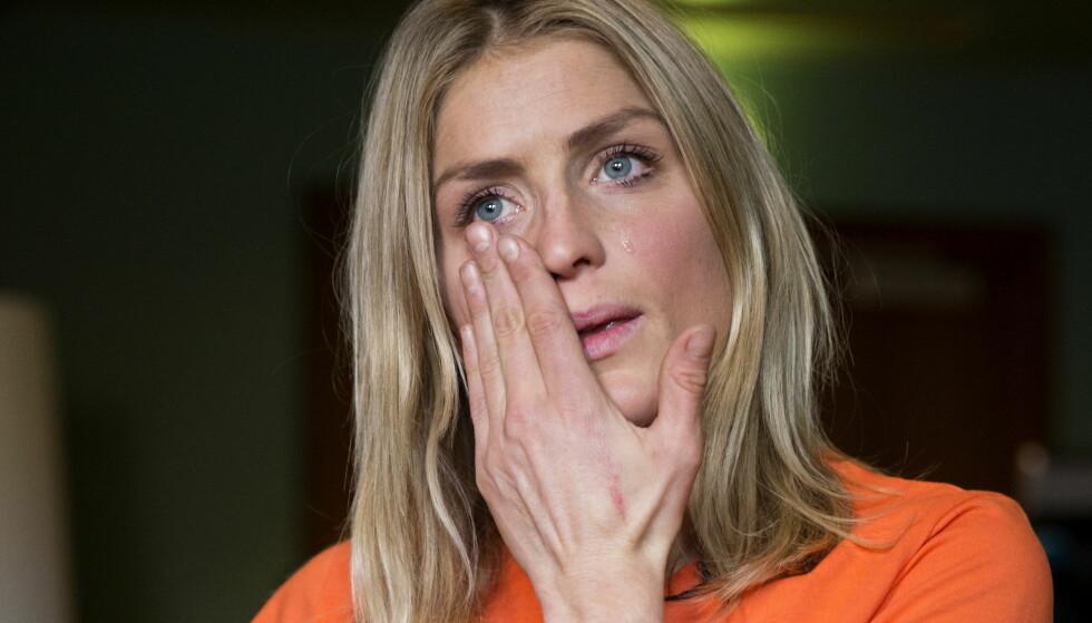 RØFF TID: Therese Johaug hadde det hardt under den langvarige rettsprosessen som fulgte etter at hun hadde brukt en ulovlig leppesalve høsten 2016. Nå vil i det minste lignende saker få en mindre politisert rettsbehandling. FOTO: Berit Roald / NTB scanpix.