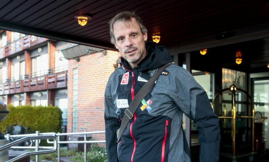 VENTET TROPP: Alexander Stöckl overrasket ingen med landslagsuttaket i hopp tirsdag. Foto: Lise Åserud / NTB scanpix