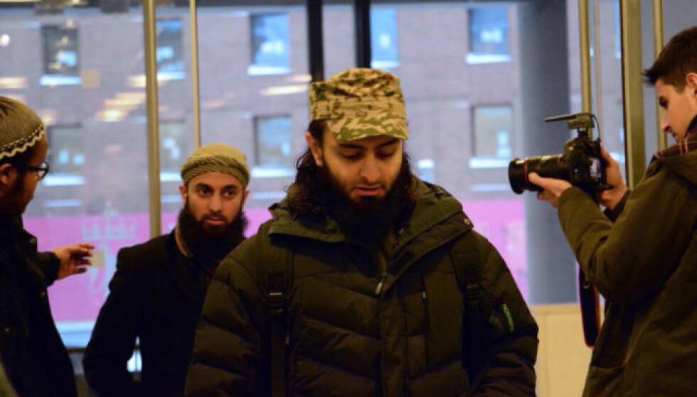 TILTALT: Mohyeldeen Mohammad er tiltalt for å ha truet stortingsrepresentant Abid Raja (V). Foto: Ralf Lofstad/Dagbladet