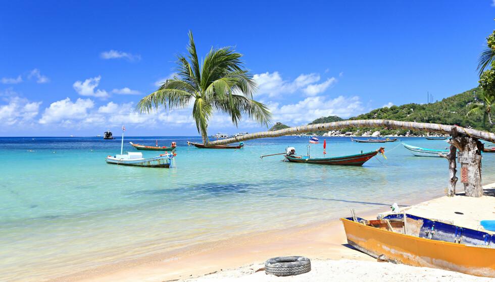 FERIEPARADIS: I løpet av de siste fire åra, har ni europeiske turister dødd eller forsvunnet fra den thailandske øya Koh Tao. FOTO: Shutterstock / NTB Scanpix