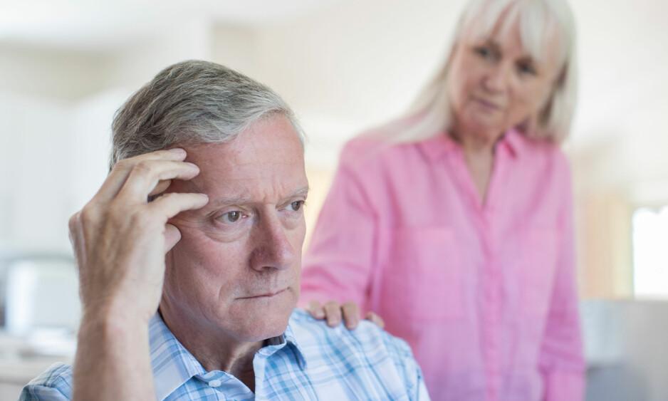 RAMMER MANGE: I Norge lider mellom 80 000 og 100 000 av demens i dag. Ny norsk studie viser hvor mange år livet reduseres med denne sykdommen. Illustrasjonsfoto: NTB Scanpix/Shutterstock