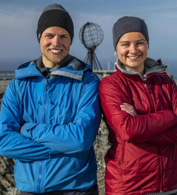 HARD KONKURRANSE: Robin Pay og Anine Ahlsand møttes til en tøff finale torsdag kveld. Det var til slutt sistnevnte som karret seg til seier, og dermed ble tidenes yngste vinner av konseptet. Foto: Matti Bernitz / Discovery
