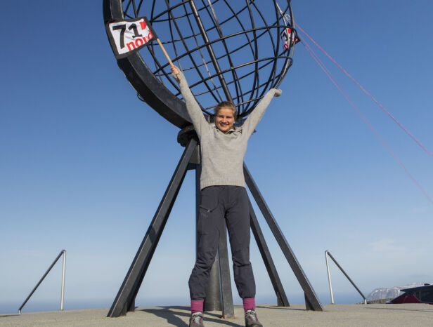 - INTENST: Ahlsand forteller at det tok tid før hun innså at hun faktisk hadde stukket av med seieren i den intense finalen. Foto: Matti Bernitz / Discovery