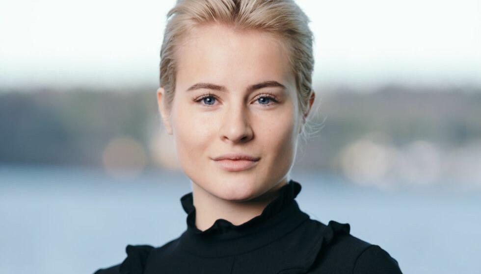RIK ARVING: Katharina Andresen har mye penger. Rødt skulle ønske hun måtte ut med 25 prosent arveavgift på dem. Foto: Frédéric Boudin / Ferd