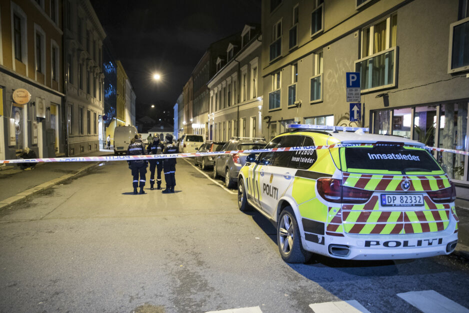 Knivstukket: En person er blitt knivstukket i Oslo sentrum natt til fredag. Foto: Vidar Ruud / NTB scanpix