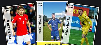 Dagbladet kårer de 50 beste fotballspillerne fra Vest-Agder
