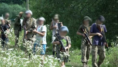 Noen av deltakerne er nede i 8-årsalderen, mens den eldste er 18 år. Foto: AP