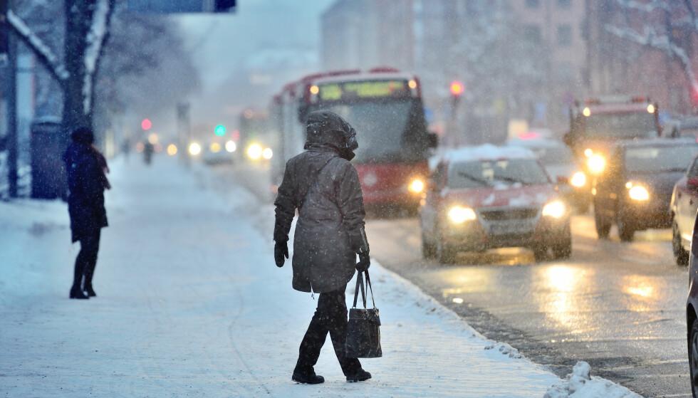 ISKALD START: Det kan bli veldig kaldt i januar og februar, sier meteorolog Martin Lindberg. Foto: Shutterstock / NTB scanpix