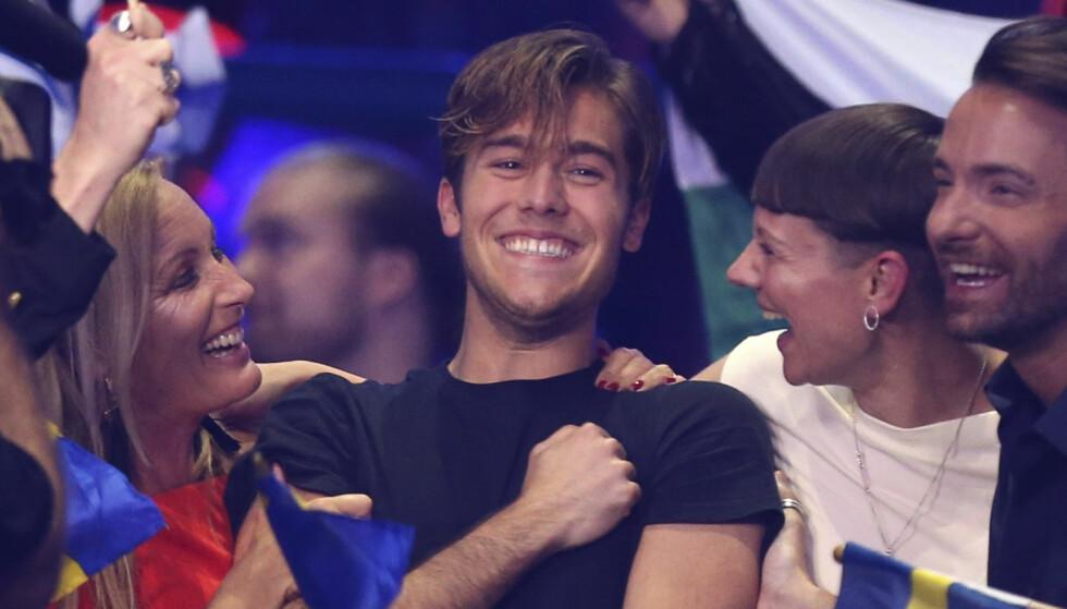 TREKKER SEG TILBAKE: Benjamin Ingrosso representerte Sverige i Eurovision tidligere i år. I Skandinavia er han allerede godt kjent, som en del av familiens realityprogram «Wahlgrens verden». Nå har han imidlertid valgt å ta en enda mindre rolle i serien. Foto: NTB scanpix