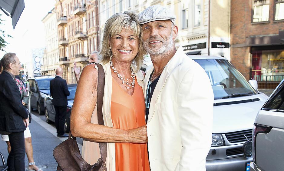 LANGT FORHOLD: Kari Gjærum og Runar Hansen har holdt sammen i 30 år. Foto: Andreas Fadum