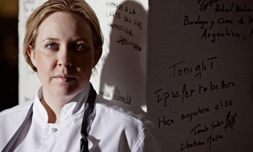UTE I GOD TID: Lag gjerne dynegrøt for å unngå svidd smak, tipser Kari Innerå. Foto: Sune Eriksen