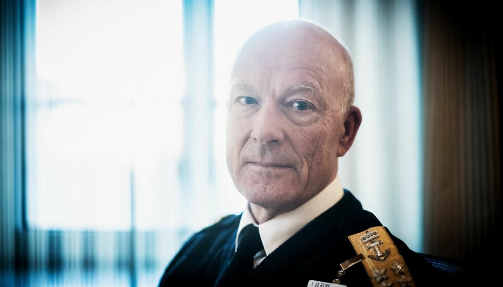 FORSVARET: Admiral Haakon Bruun-Hanssen er Norges forsvarssjef. Foto: Øistein Norum Monsen/Dagbladet
