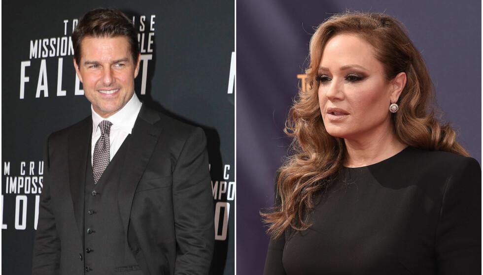 SJOKKANKLAGER: Skuespillerstjerna Leah Remini anklager Tom Cruise for å være involvert i alvorlige voldshendelser. Foto: NTB Scanpix