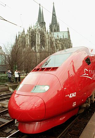 VIKTIG FORBINDELSE: Thalys-forbindelsen er en viktig kommunikasjonsfaktor i Europa. Foto: NTB Scanpix