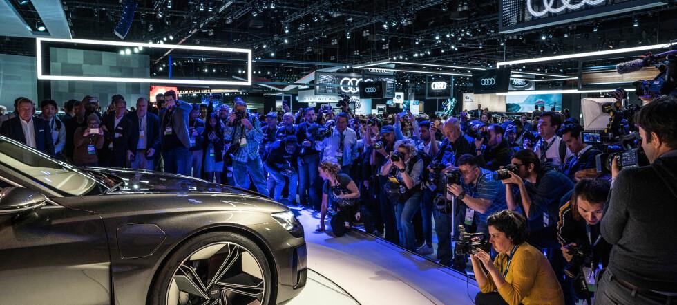 Audi og Porsche samarbeider om ny elbil