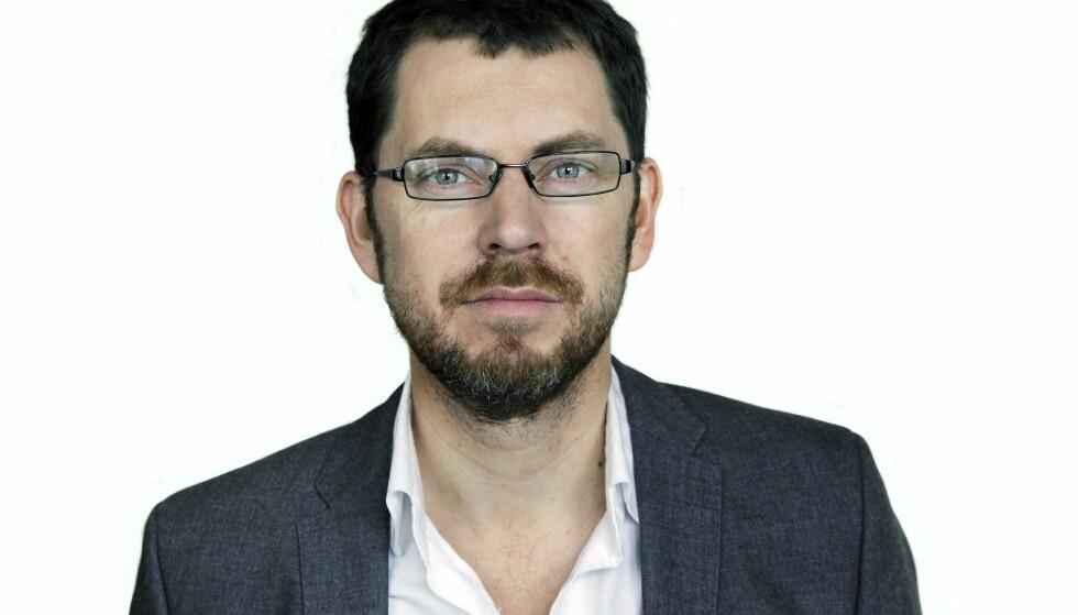 NY STILLING: Redaksjonssjef for Dagbladet Pluss, Bjørn Bore, er Vårt Lands nye sjefredaktør. Foto: Steinar Buholm / Dagbladet.