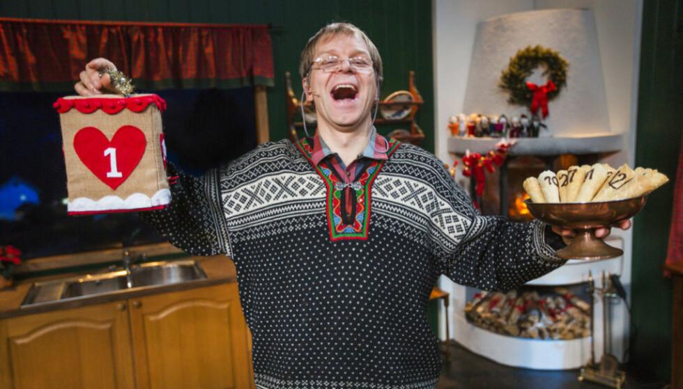 GLADGUTT: Karakteren Asbjørn Brekke har alltid et bredt smil og en god latter på lager. Foto: TVNorge