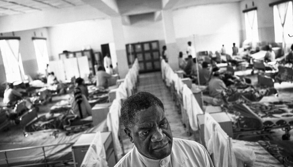 FREDSPRISVINNER: Nobels fredspris for 2018 deles i dag ut til den kongolesiske legen Denis Mukwege og IS-overlevende Nadia Murad for bekjempelsen av krigsforbrytelser. Foto: NTB/Scanpix