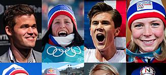 Disse utøverne er nominert til Folkets idrettspris 2018