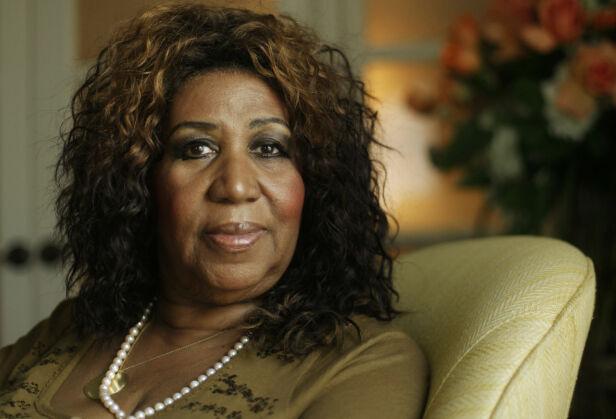 SOULDRONNING: Med låter som «Respect» og «You Make Me Feel Like a Natural Woman», fikk Aretha Franklin tilnavnet verdens «souldronning». I 1987 ble hun som første kvinne innlemmet i rockens æresgalleri. Foto: NTB Scanpix