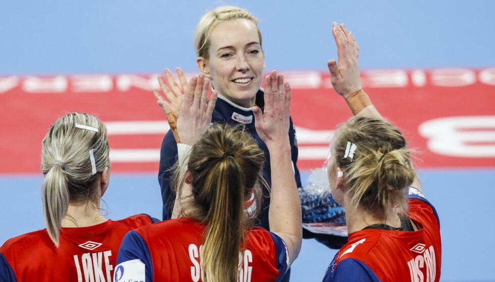 VERDENSKLASSE: Legenden Katrine Lunde stod bedre i mål enn noen gang mot Nederland. Det holder neppe til semifinale, men viser hvor gode Norge egentlig er i denne sporten. FOTO:Vidar Ruud / NTB scanpix.