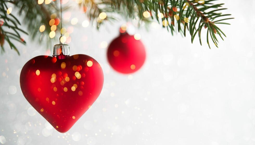 JULEHJERTER: «Julehjertet vårt, det både gråter og ler lettere», sa bestefar (foto: Scanpix).
