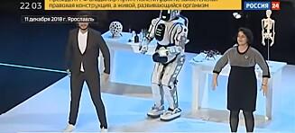 Russisk superavansert robot avslørt som bløff