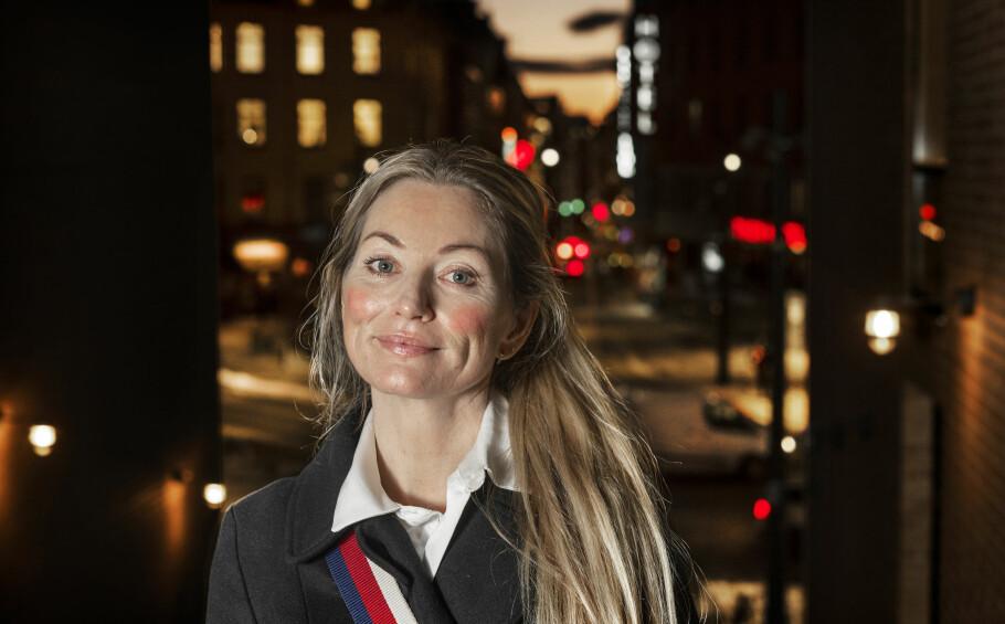 SKJEBNEN: Ida Andenæs hadde egentlig bestemt seg for å ikke bli jurist. I slutten av 20-åra ble hun innhentet av sin egen familiebakgrunn. Foto: Hans Arne Vedlog