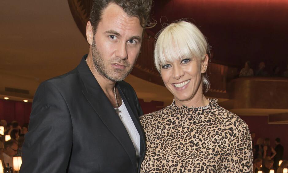 FORLOVET: Lykken smiler for Marian Aas Hansen og Zelimir Kulisic. Foto: Tore Skaar / Se og Hør