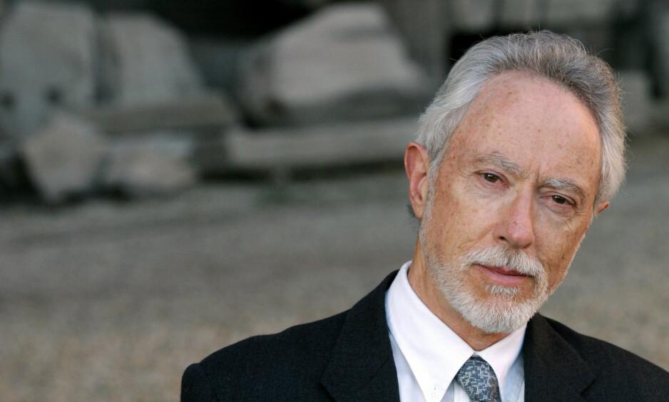 NOBELPRISVINNER: J.M. Coetzee er født i Sør-Afrika i 1940. Siden 2002 har han vært bosatt i Australia. Coetzee har blitt tildelt flere høythengende priser, blant annet Booker-prisen og Nobelprisen i litteratur som han mottok i 2003. Foto: NTB Scanpix