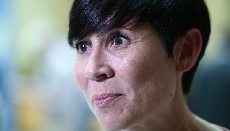 Alvorlig: Ine Eriksen Søreide (H), utenriksminister, er bekymret for eskaleringen og ber alle parter besinne seg.