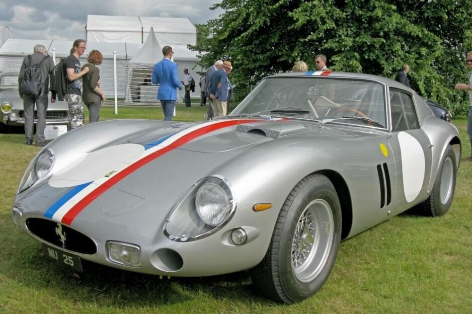 VERDENS DYRESTE: I et privat salg skal denne 1963-utgaven av Ferrari GTO ha blitt solgt for 70 millioner dollar, eller 609 millioner kroner etter dagens dollarkurs. Foto: Martin Bigg, Carbuzz