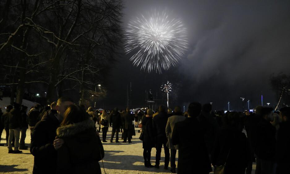 RAKETTVÆR: Disse stedene i Norge får «rakettvær» på nyttårsaften. Foto: Torstein Bøe / NTB Scanpix