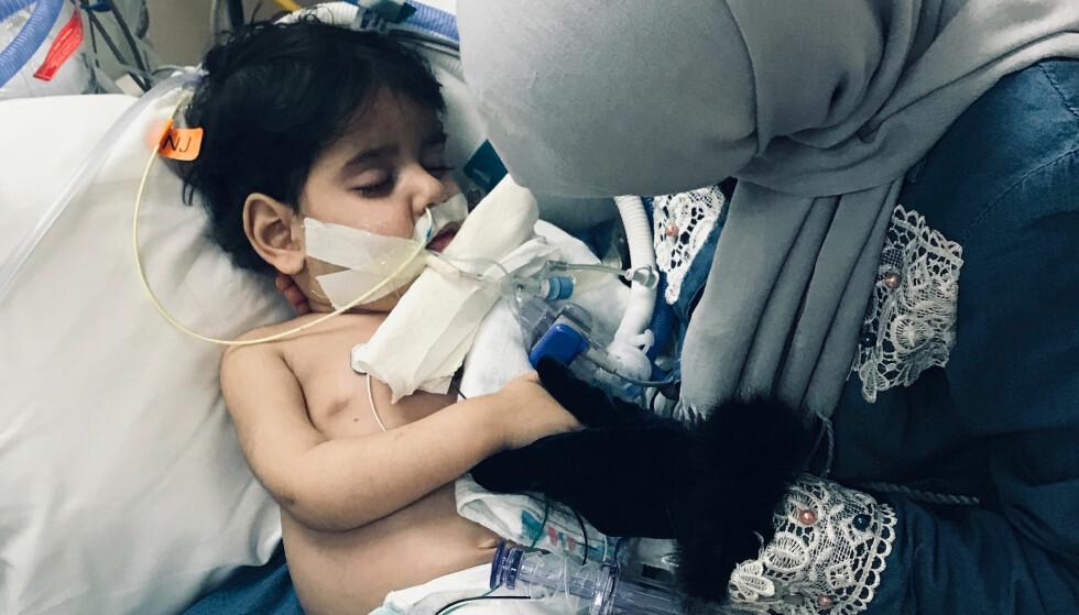 DØDE: Fredag døde to år gamle Abdullah Hassan. Foto: Council on American Islamic Relations, Sacramento Valley via AP / NTB scanpix