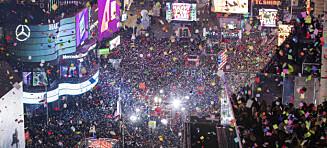 To millioner mennesker på Times Square: - Tøys, sier eksperter