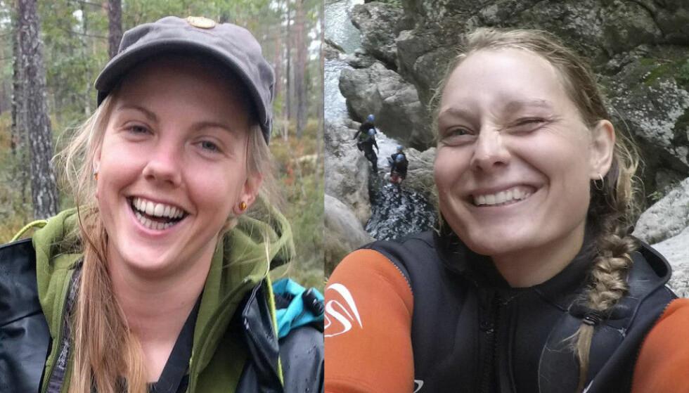 DREPT: Norske Maren Ueland (28) (t.v.) og danske Louisa Vesterager Jespersen (24) ble funnet drept 17. desember, ved foten av Toubkal-fjellet nær fjellandsbyen Imlil i Marokko. I går ble sju nye personer siktet i saken. Foto: Privat
