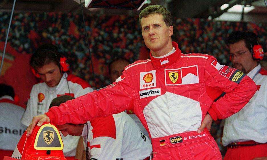 LEGENDE: Michael Schumacher er tidenes mestvinnende Formel 1-fører. Foto: Scanpix