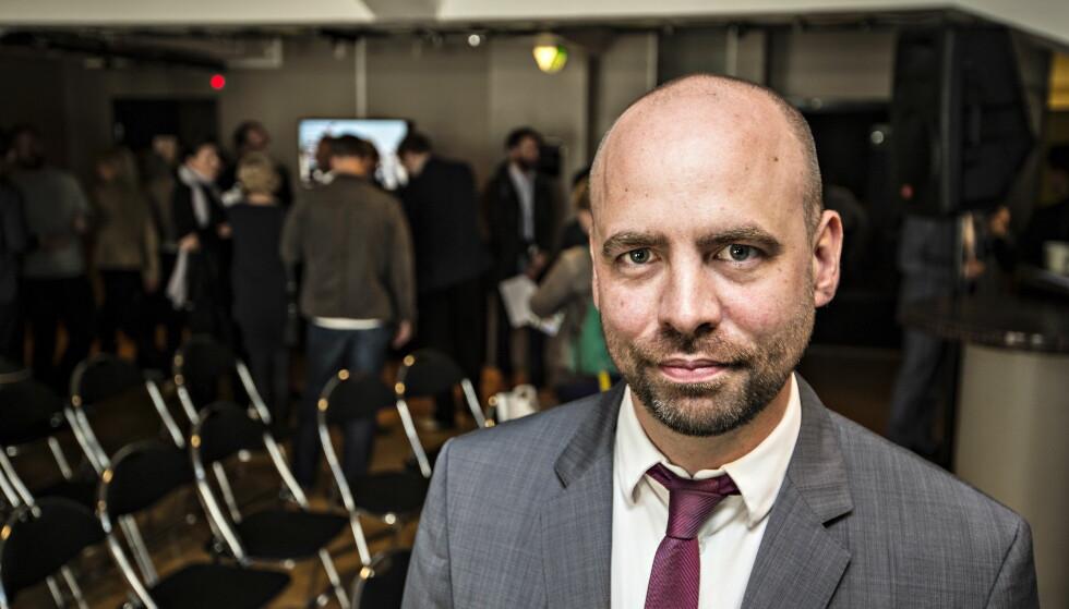 UTÅLMODIG: Arild Grande, stortingsrepresentant for Arbeiderpartiet, synes det tar for lang tid å få på plass et åpent konkursregister. Foto: Hans Arne Vedlog /Dagbladet