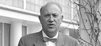 - Rolf E. Stenersen var en «smilende manipulator»